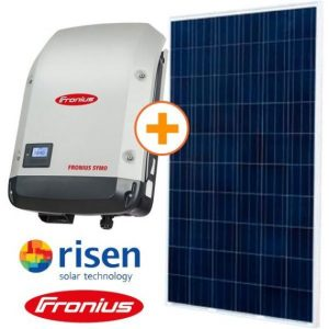 KIT ENERGIA SOLAR FRONIUS COLONIAL 2,38 kwp