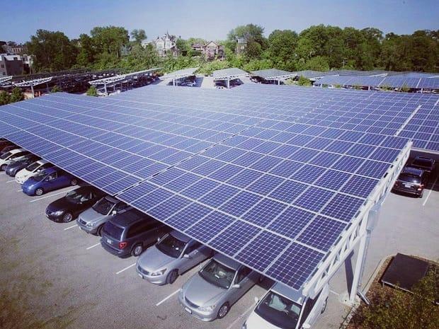 Energia Solar na Aclimação