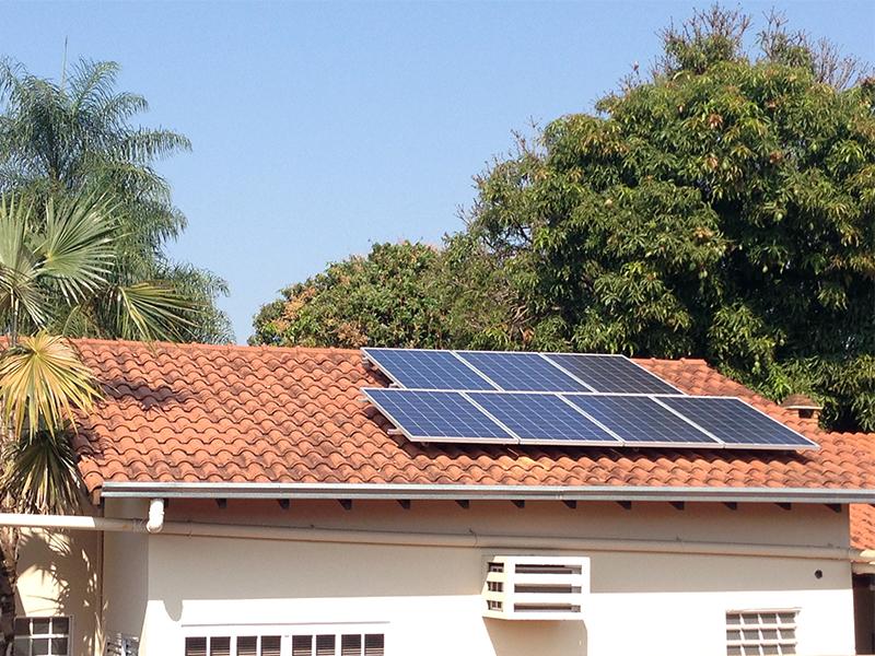 Energia Solar no JD da Glória