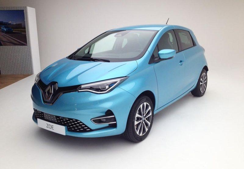carro eletrico Renault Zoe