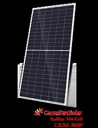 10 Painéis Solar 360W Canadian Solar – CS3U-360P