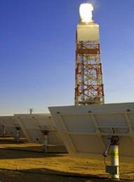 Projeto de Abu Dhabi para amarrar Blythe em tamanho com a mesma tecnologia de Energia Solar
